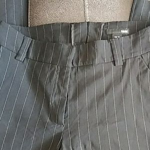 Pin stripped dress pants